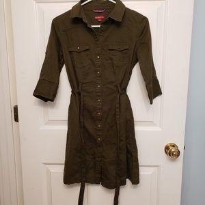 Merona Dark Green Dress